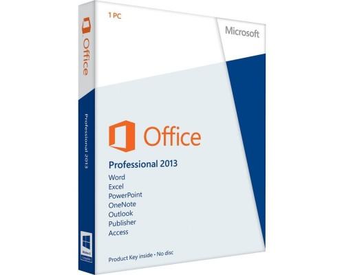 MICROSOFT Office 2013 PRO 32BIT/64BIT TR (1 Kullanıcı)