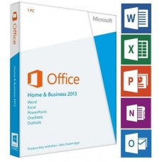 MICROSOFT Office 2013 Home Business 32/64 BIT TR KUTU(1 KULLANICI)